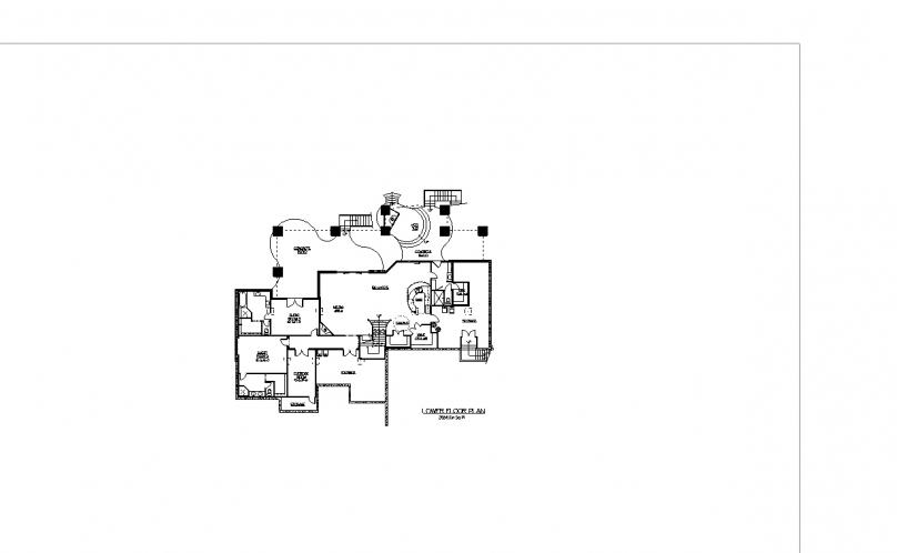 Craftsman House Plan - Blackstone 92302 - Basement Floor Plan