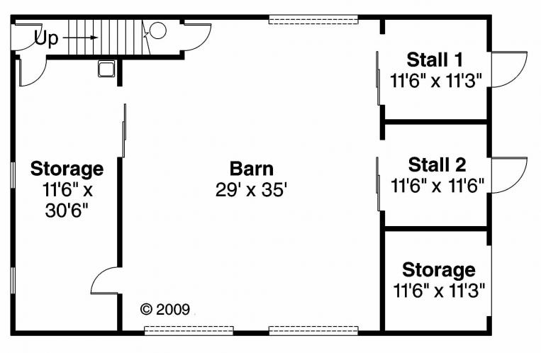 Country  -  92377 - 1st Floor Plan