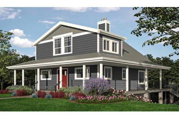 Cottage House Plan -  92479 - Front Exterior