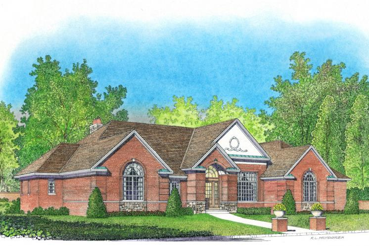 Southern House Plan -  92549 - Front Exterior