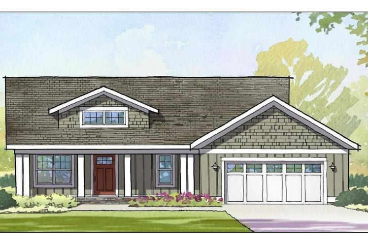 Ranch House Plan - Tuscan 92653 - Front Exterior