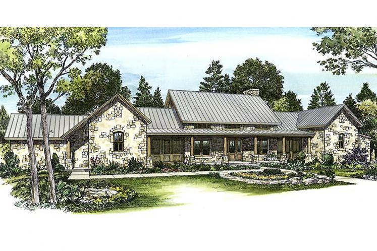 Country House Plan - Settler 92755 - Front Exterior