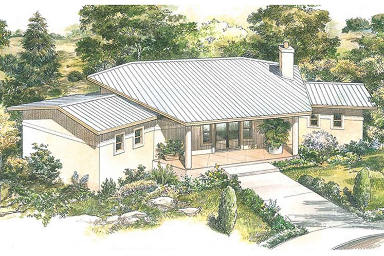 Contemporary House Plan - Sierra 92906 - Front Exterior