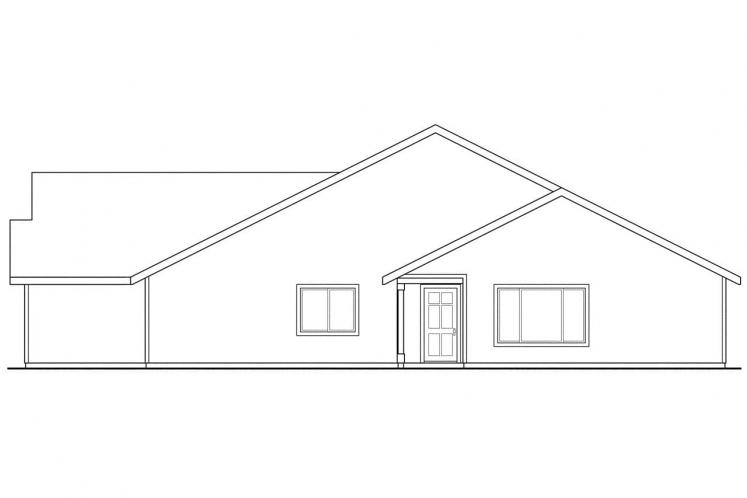 Cottage Multi-family Plan - Wynant 93229 - Right Exterior