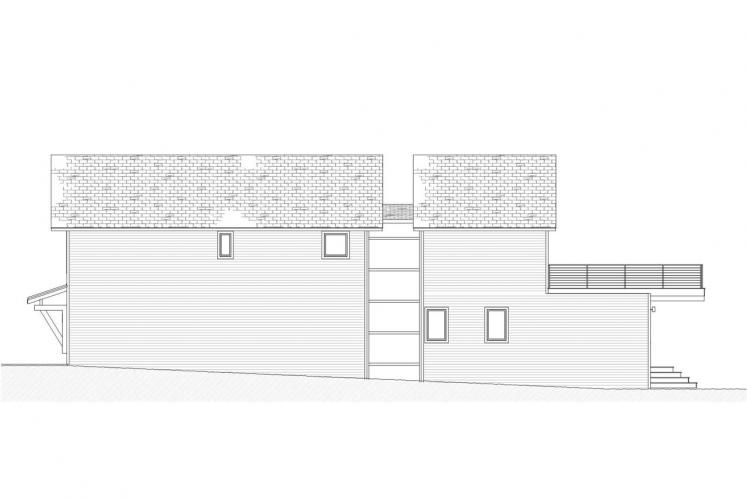 Cottage House Plan - Fairview 93588 - Right Exterior