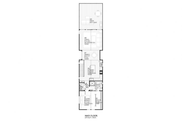 Cottage House Plan - Fairview 93588 - 2nd Floor Plan