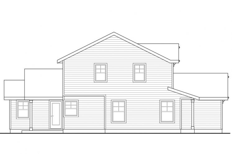 Country House Plan - Wendover 93752 - Left Exterior