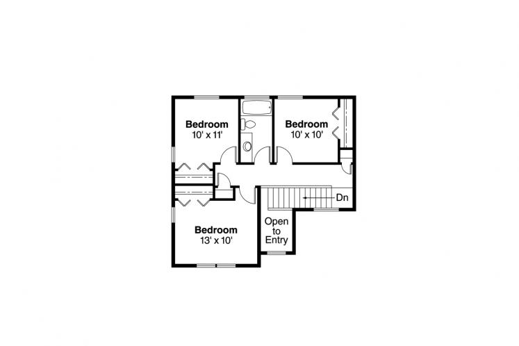 Country House Plan - Wendover 93752 - 2nd Floor Plan