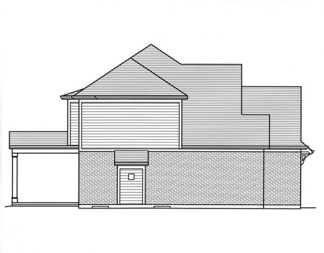 Country House Plan - Sweetbriar 94014 - Left Exterior