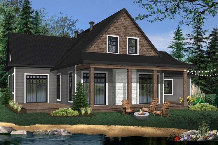 Cottage House Plan - Louisia 6 94078 - Front Exterior