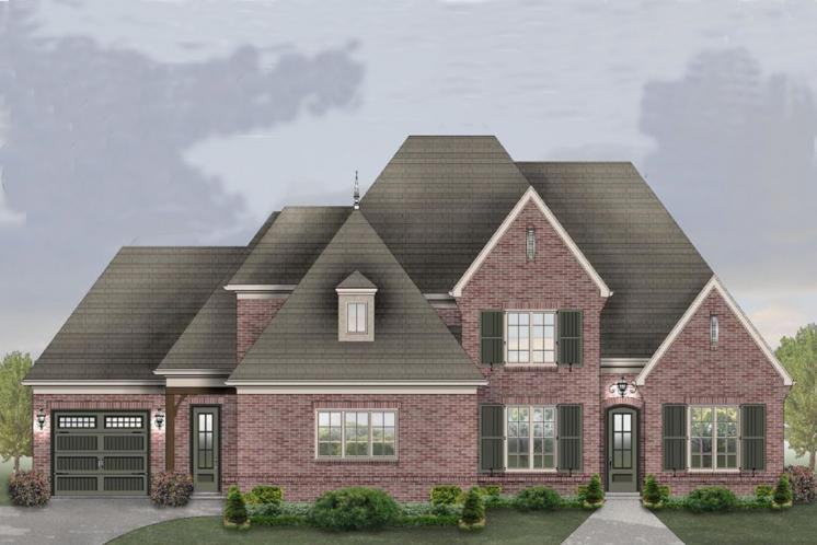 Southern House Plan -  94508 - Front Exterior