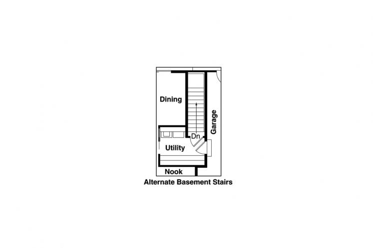 Traditional House Plan - Briarton 94713 - Other Floor Plan
