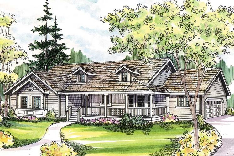 Country House Plan - Briarton 94713 - Front Exterior