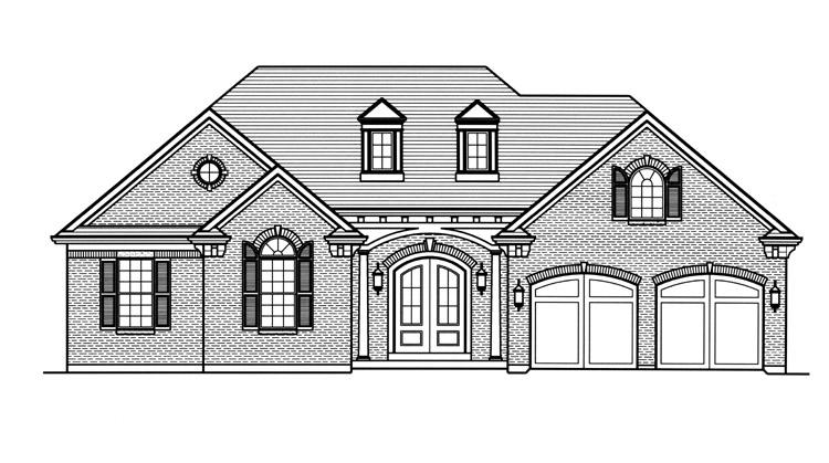 Traditional House Plan - The Vicksburg 94986 - Front Exterior