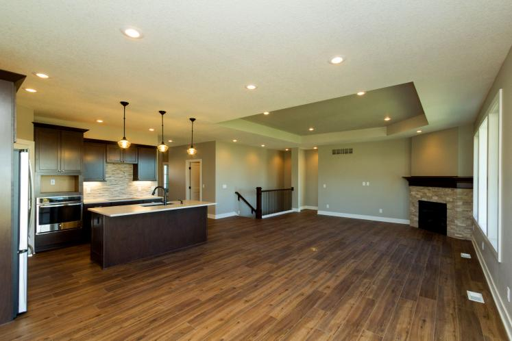 Ranch House Plan -  95064 - Great Room