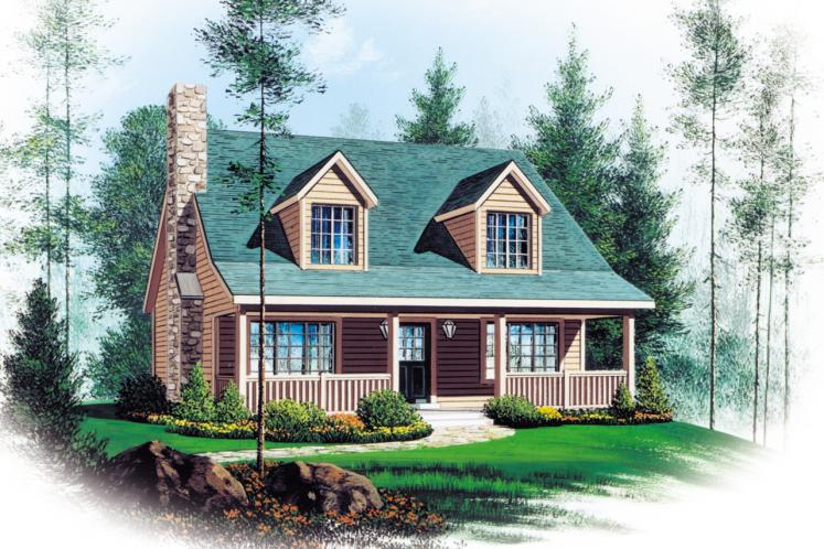 Country House Plan -  95139 - Front Exterior
