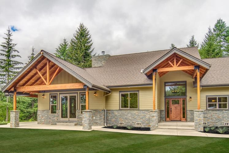 Bungalow House Plan - Heartfall 95320 - Front Exterior