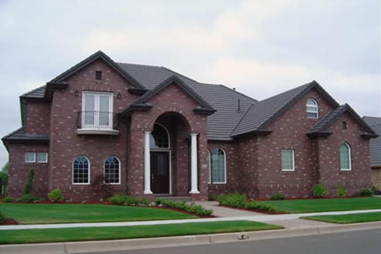 European House Plan - Reynolds 95664 - Front Exterior