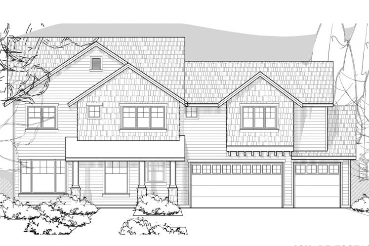 Traditional House Plan -  96892 - Front Exterior