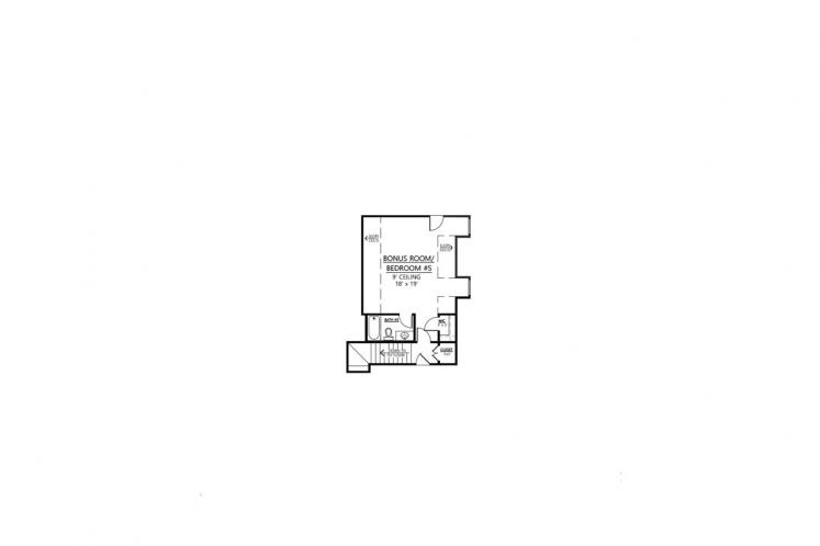 Colonial House Plan - Reserve 96962 - 2nd Floor Plan