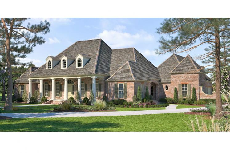 Southern House Plan - Reserve 96962 - Front Exterior
