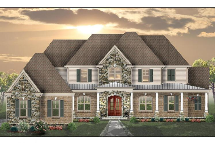 Classic House Plan -  97092 - Front Exterior