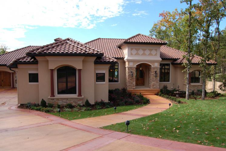 Ranch House Plan -  97125 - Front Exterior