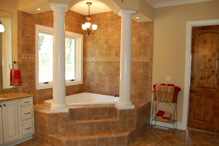 European House Plan -  97125 - Master Bathroom