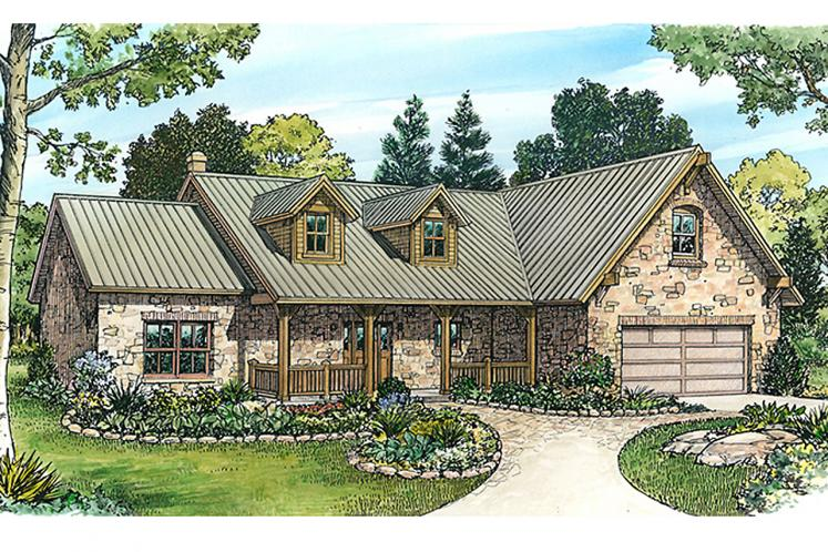 Ranch House Plan - Augusta 97154 - Front Exterior