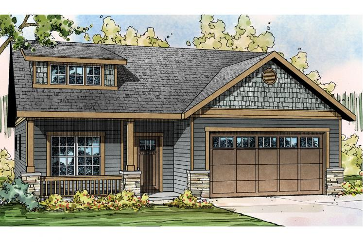 Cottage House Plan - Shasta 97343 - Front Exterior