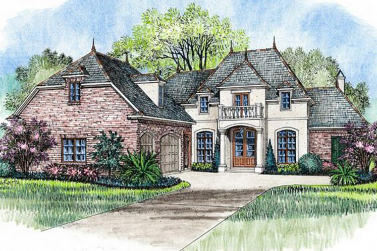 European House Plan - Carriagewood 97345 - Front Exterior