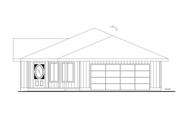 Country House Plan -  97371 - Front Exterior