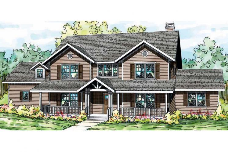 Country House Plan - Ambrosia 97538 - Front Exterior