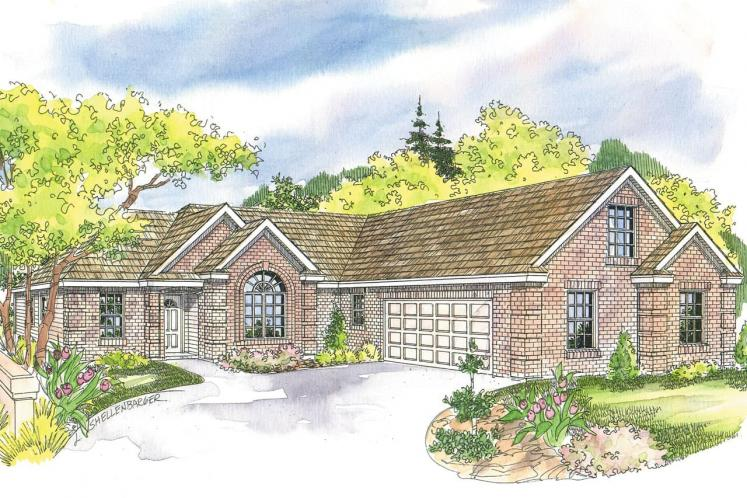 Traditional House Plan - Willcox 97573 - Front Exterior