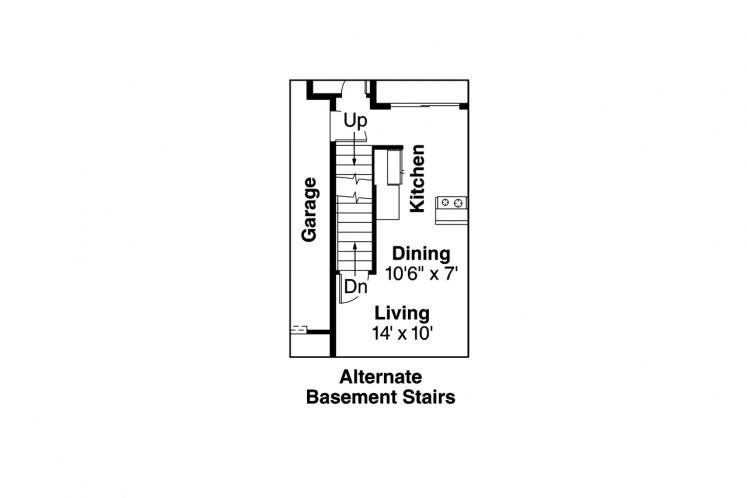 Craftsman Multi-family Plan - Cranbrook 97797 - Basement Floor Plan