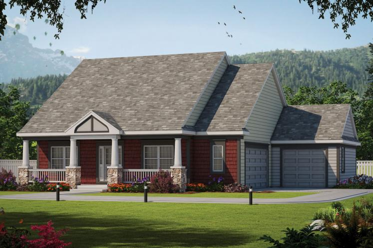 Traditional House Plan - Finley Acres 97823 - Front Exterior