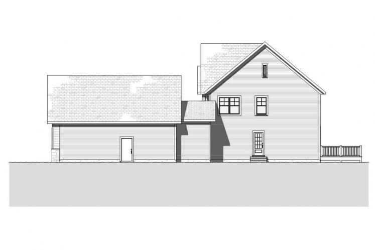 Traditional House Plan - Madison 98238 - Right Exterior