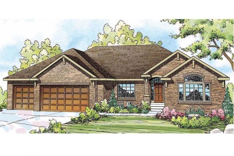 Southern House Plan - Lupine 98252 - Front Exterior