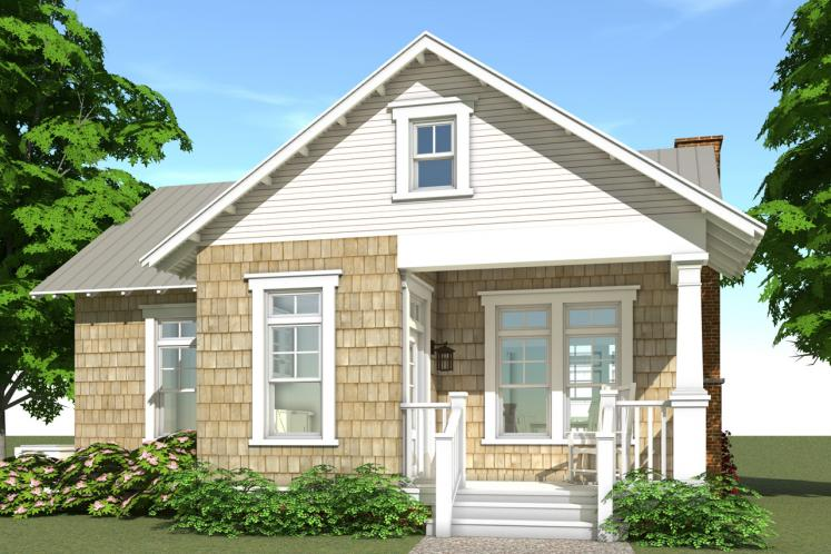 Cape Cod House Plan - Reunion Cottage 98331 - Rear Exterior