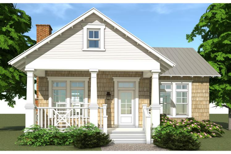 Cottage House Plan - Reunion Cottage 98331 - Front Exterior