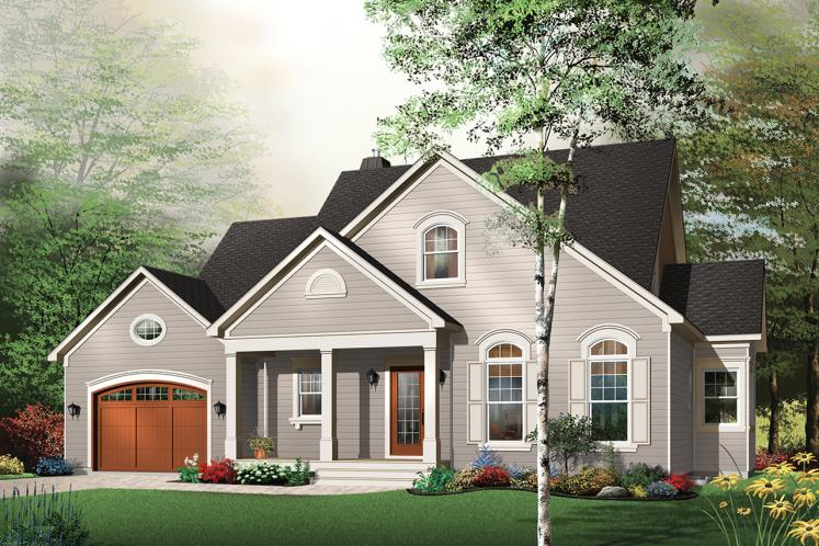 Country House Plan - Margot 98693 - Front Exterior