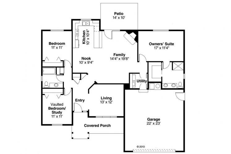 Country House Plan - Walsh 98840