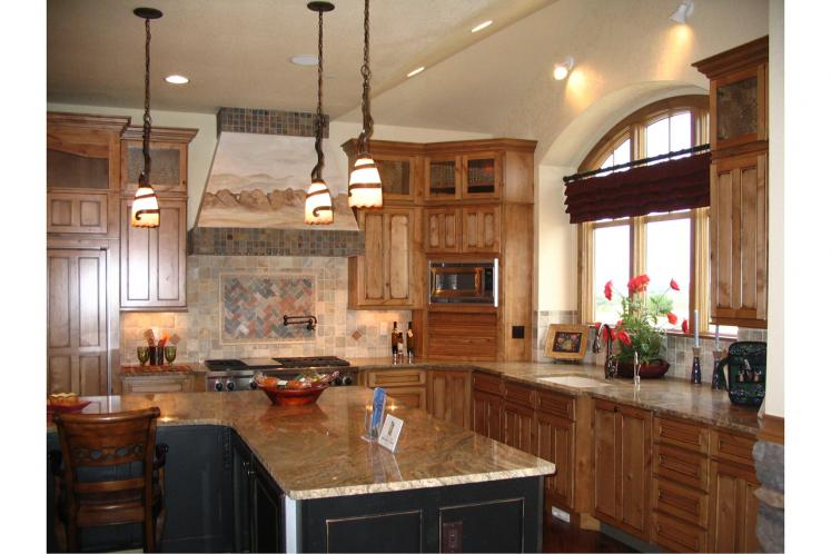Lodge Style House Plan - Avalon 99076 - Kitchen