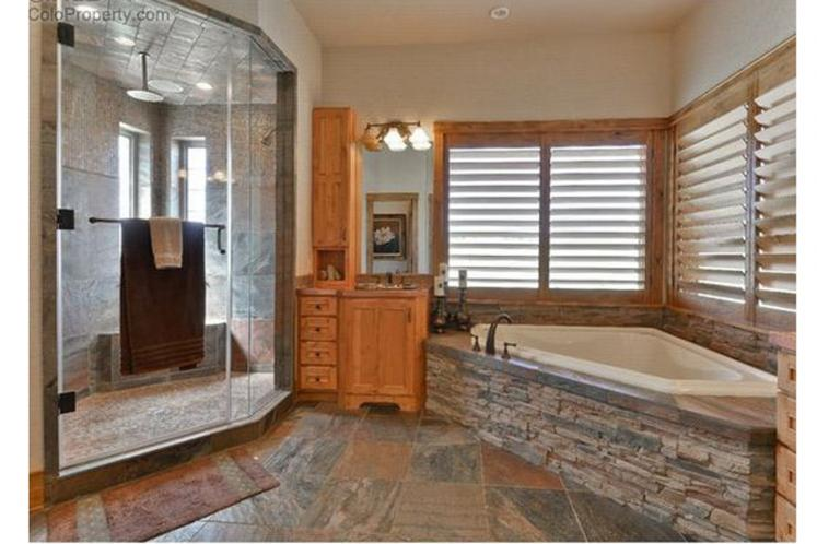 Lodge Style House Plan - Avalon 99076 - Master Bathroom