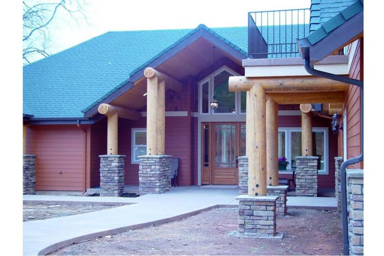 Lodge Style House Plan - Missoula 99305 - Front Exterior