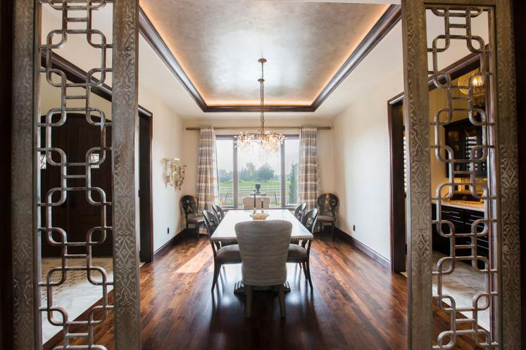 Southwest House Plan - Valencia Road 99381 - Dining Room