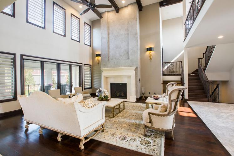 Southwest House Plan - Valencia Road 99381 - Great Room