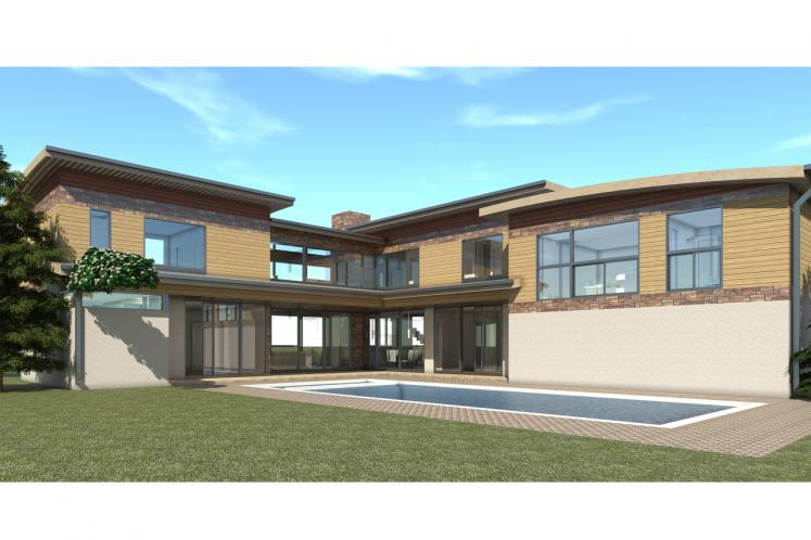 Modern House Plan - Haystack 99745 - Right Exterior
