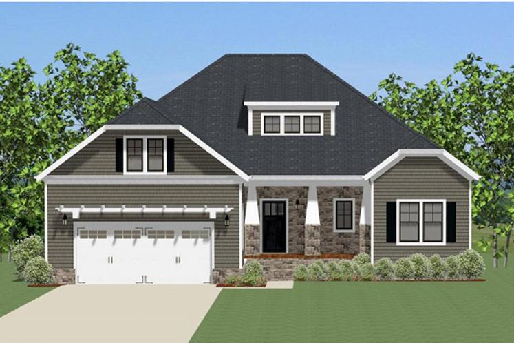 Craftsman House Plan - Jameson 99795 - Front Exterior