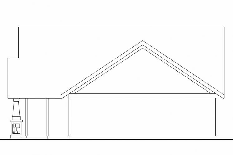 Cottage House Plan - Spangler 99797 - Right Exterior